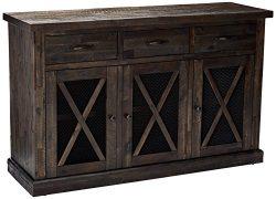 Alpine Furniture 1468-26 Newberry Sideboard