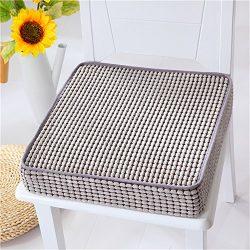 VANCORE Indoor/Outdoor Chair Cushion Non-Skid Memory Foam Seat Cushion Luxury Chair Pillow Squar ...
