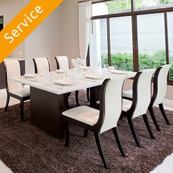 Dining Set Assembly – 9 pieces