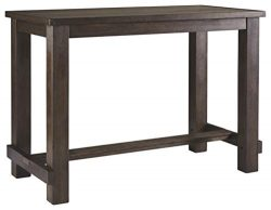 Signature Design by Ashley D538-12 Drewing Bar Table, Brown