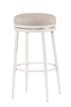 Hillsdale Furniture Aubrie Counter Stool, Height, Off White