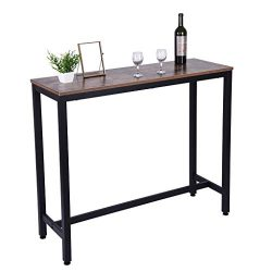 shamoluotuo Modern Bar Table Set Dining Coffee Table Leisure Wooden Tea Breakfast Table Office C ...