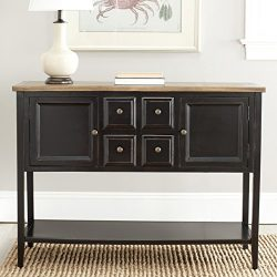 Safavieh American Homes Collection Charlotte Black Sideboard