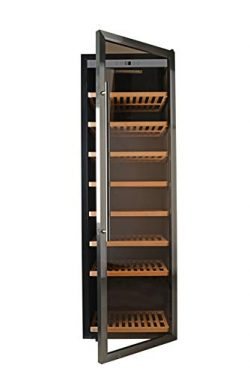 HYD-Parts 192 Bottles Free Standing Thermoelectric Wine Refrigerator,Super Large Wine Bottles ra ...