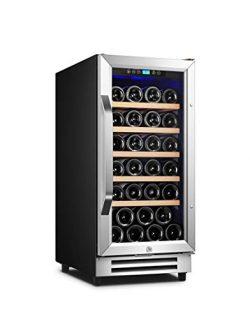 Karcassin Wine Cooler Refrigerator – Compressor Wine Bottle Chiller – Single Temp Zo ...