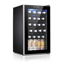 Antarctic Star 24 Bottle Wine Cooler/Cabinet Beverage Refigerator Small Wine Cellar Soda Beer Co ...