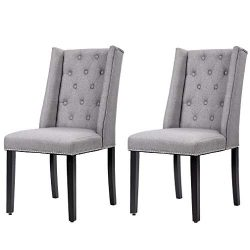 Dining Chairs Dining Room Chairs Kitchen Chairs for Living Room (Set of 2)  Side Chair for Resta ...