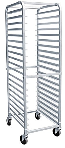 AmGood Commercial Kitchen Pan Rack – Heavy Duty, Bun Pan Sheet Rack, NSF Certified with Wh ...