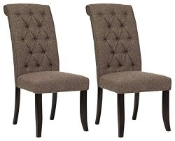 Ashley Furniture Signature Design – Tripton Dining Room Side Chair Set – Upholstered ...
