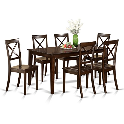 7 Pc formal Dining room set – Table and 6 formal Dining Chairs