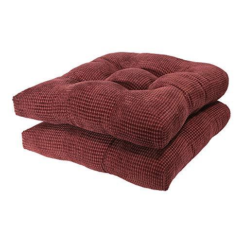 Arlee – Tyler Chair Pad Seat Cushion, Memory Foam, Non-Skid Backing, Durable Fabric, Super ...