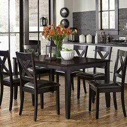Liberty Furniture Industries Thornton II 7 Piece Rectangular Table Set, W36 x D60 x H30
