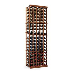 N'FINITY Wine Rack Kit – 5 Column with Display – Dark Walnut – Solid Mah ...
