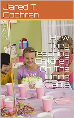 How They Teaching Children On The Dining Table