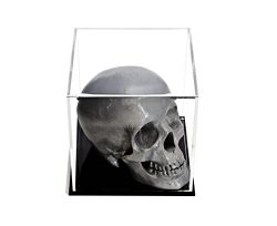 Better Display Cases Versatile Acrylic Display Case, Cube, Dust Cover or Riser with Black Base 5 ...