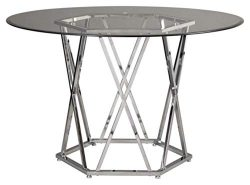 Signature Design By Ashley – Madanere Round Dining Room Table – Contemporary Style & ...