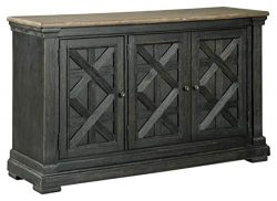 Signature Design by Ashley – Tyler Creek Dining Room Server – Textured Antique Black ...