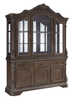Signature Design By Ashley – Charmond Dining Room China Hutch – Component Piece R ...