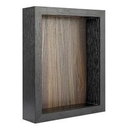 FRAME YI 8×10 Shadow Box | Top Loading Shadow Box | ShadowBox Display Case | Wood Deep Shad ...