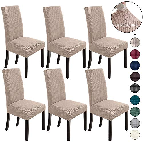 NORTHERN BROTHERS Dining Room Chair Slipcovers Dining Chair Covers Parsons Chair Slipcover Stret ...