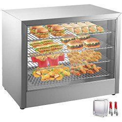 VEVOR 110V 25-Inch Commercial Food Warmer Display 4-Tier 800W Electric Food Warmer Display 86-18 ...
