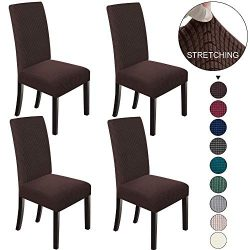 NORTHERN BROTHERS Dining Chair Covers Stretch Chair Covers Parsons Chair Slipcover Chair Covers  ...