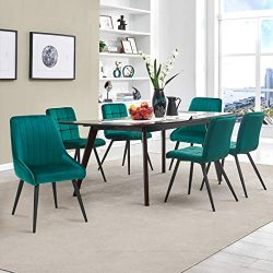 Duhome Kitchen Dining Chair Set,Chairs for Breakfast Dining Room Kitchen Furniture, Atrovirens