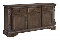 Signature Design By Ashley – Charmond Dining Room Buffet Server – Traditional Style  ...