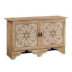 Sauder 420826 Viabella Storage Cabinet, 50.87″ L x 16.69″ W x 30.87″ H, Antigu ...