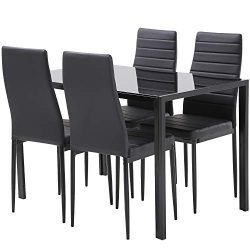 FDW Dining Table Set Dining Table Dining Room Table Set for Small Spaces kitchen table and chair ...