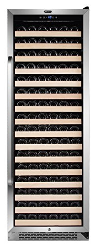 Whynter BWR-1662SD 166 Built-in or Freestanding Stainless Steel Compressor Large Capacity Wine R ...