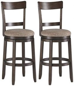 Signature Design By Ashley – Drewing Bar stools – Bar Height – Open Back ̵ ...