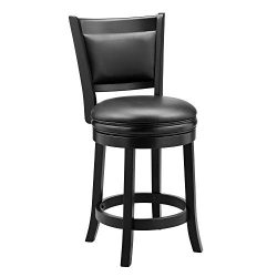 Ball & Cast Bar Stool, 24″, Black