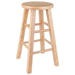 Winsome Dakota 24″ Counter Natural Finish Stool