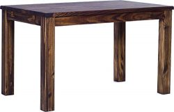 TableChamp Dining Table Rio, 47 x 30 Oak Antique Solid Pine Wood Oiled, Extensions Optional Exte ...