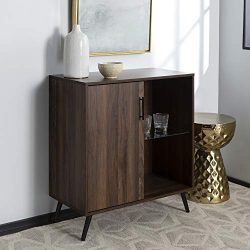 Walker Edison Furniture Company Mid-Century Modern Buffet Sideboard Kitchen Dining Storage Bar C ...