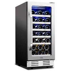 Ivation 31-Bottle 15″ Built-In Compressor Wine Cooler/Cellar Undercounter Wine Fridge | Te ...