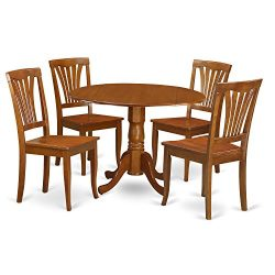 5 Pc Kitchen nook Dining set-breakfast nook Table and 4 Dining Chairs